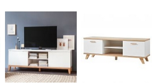 m bel outlet m rteens pureday jung s hne lowboard. Black Bedroom Furniture Sets. Home Design Ideas